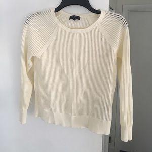 Rag and Bone mesh 3/4 sleeve top